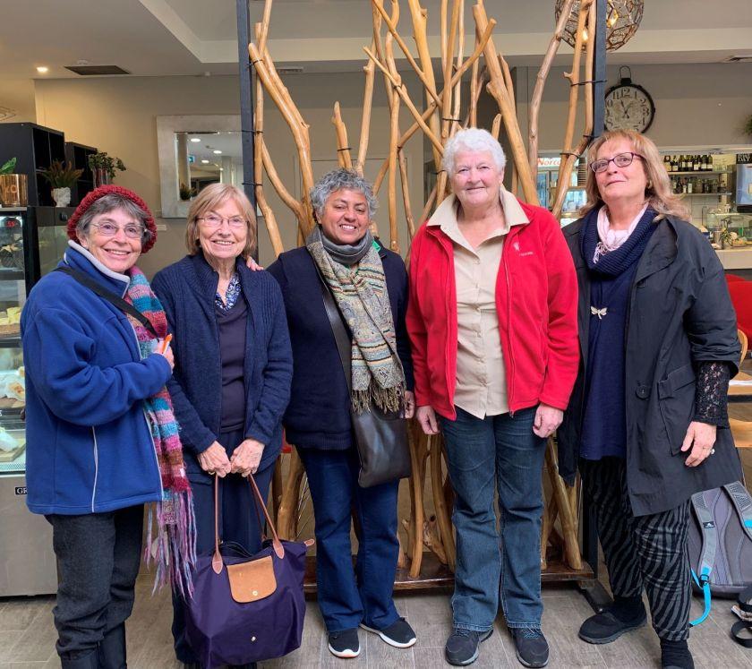 Ashington Group Meeting Hut: White Pebbles Haiku Group Winter Meeting