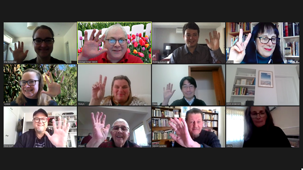 Fringe Myrtles Haiku Meeting A - 17 May 2020
