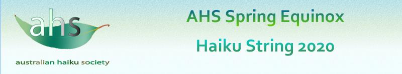 AHS Spring Equinox Haiku String2020.
